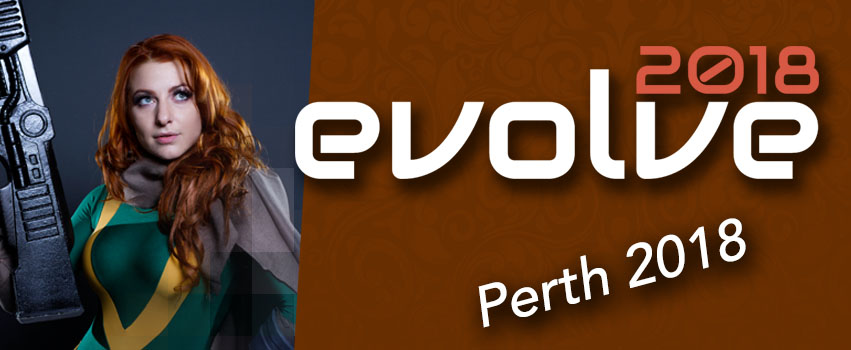 Evolve Pop Culture Expo – Perth 2018