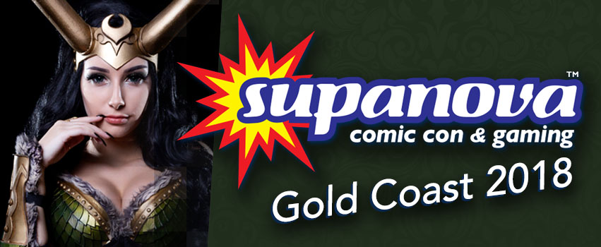 Supanova Comic Con & Gaming – Gold Coast 2018